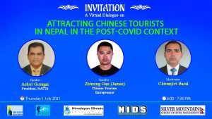 A Virtual Dialogue on Attracting Chinese Tourists in Nepal in the Post- COVID Context